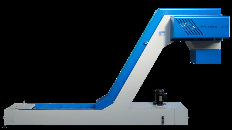 SCC Nastro trasportatore incernierato blu