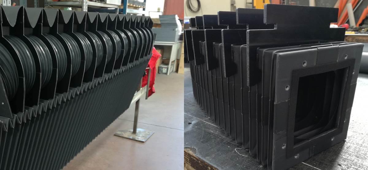 Soffietti taglio laser e plasma