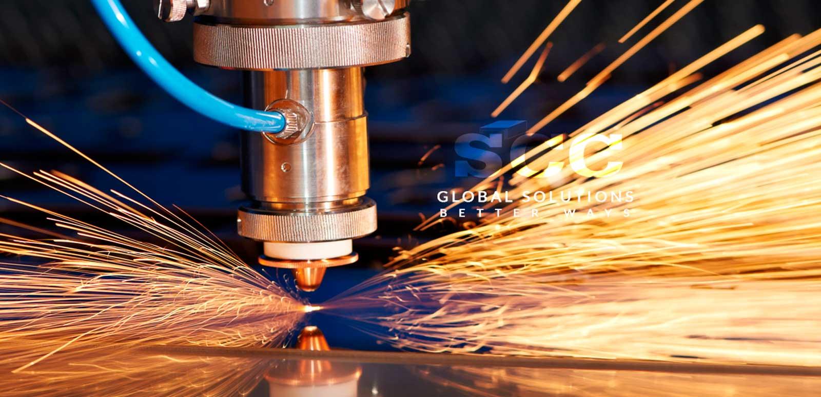 SCC s.r.l. Lavorazione laser slide 1